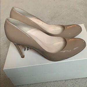 LK Bennett London Shilo nude heels sz 39